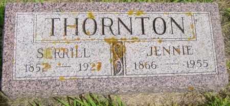 THORNTON, JENNIE - Lincoln County, South Dakota   JENNIE THORNTON - South Dakota Gravestone Photos