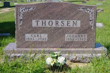 THORSEN, JOHANNE - Lincoln County, South Dakota | JOHANNE THORSEN - South Dakota Gravestone Photos