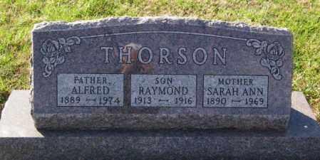 THORSON, ALFRED - Lincoln County, South Dakota | ALFRED THORSON - South Dakota Gravestone Photos