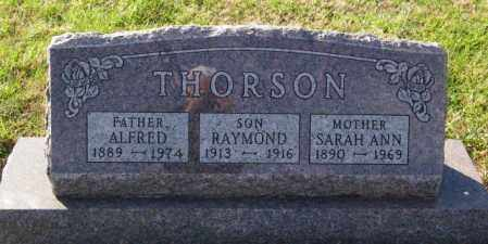THORSON, ALFRED - Lincoln County, South Dakota | ALFRED THORSON - South Dakota Gravestone Photos