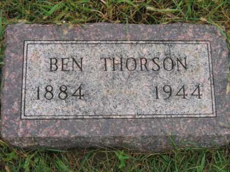 THORSON, BEN - Lincoln County, South Dakota   BEN THORSON - South Dakota Gravestone Photos