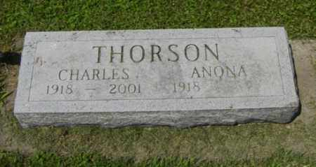 THORSON, CHARLES - Lincoln County, South Dakota | CHARLES THORSON - South Dakota Gravestone Photos