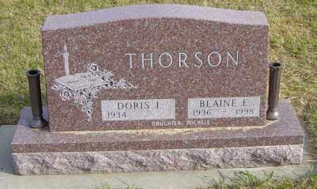 THORSON, BLAINE E - Lincoln County, South Dakota | BLAINE E THORSON - South Dakota Gravestone Photos