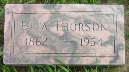 THORSON, ETTA - Lincoln County, South Dakota | ETTA THORSON - South Dakota Gravestone Photos
