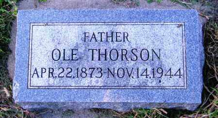 THORSON, OLE - Lincoln County, South Dakota | OLE THORSON - South Dakota Gravestone Photos
