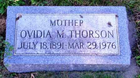 THORSON, OVIDIA M. - Lincoln County, South Dakota | OVIDIA M. THORSON - South Dakota Gravestone Photos