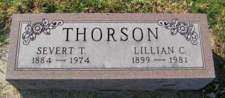 THORSON, SEVERT T. - Lincoln County, South Dakota | SEVERT T. THORSON - South Dakota Gravestone Photos