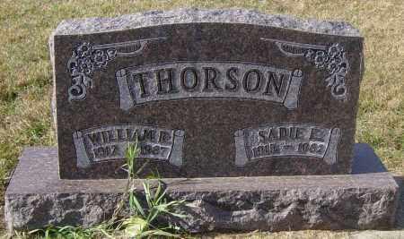THORSON, SADIE E - Lincoln County, South Dakota | SADIE E THORSON - South Dakota Gravestone Photos