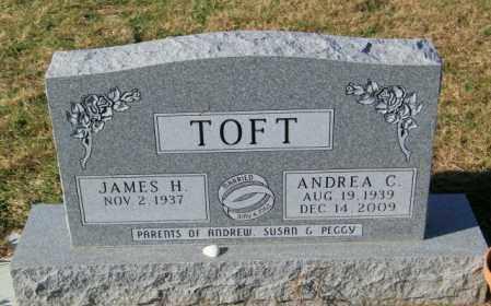 TOFT, ANDREA C. - Lincoln County, South Dakota | ANDREA C. TOFT - South Dakota Gravestone Photos
