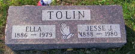 TOLIN, ELLA - Lincoln County, South Dakota | ELLA TOLIN - South Dakota Gravestone Photos