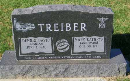 ANDERSON TREIBER, MARY KATHRYN - Lincoln County, South Dakota | MARY KATHRYN ANDERSON TREIBER - South Dakota Gravestone Photos