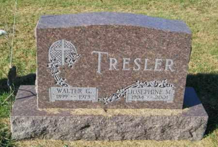 TRESLER, WALTER G. - Lincoln County, South Dakota | WALTER G. TRESLER - South Dakota Gravestone Photos