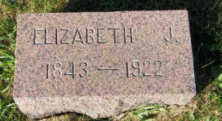 TUNELL, ELIZABETH J. - Lincoln County, South Dakota | ELIZABETH J. TUNELL - South Dakota Gravestone Photos