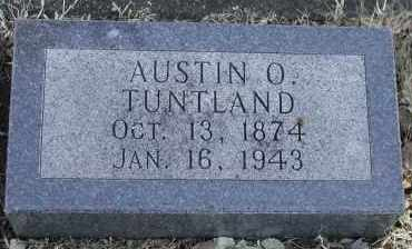 TUNTLAND, AUSTIN OLSSON - Lincoln County, South Dakota | AUSTIN OLSSON TUNTLAND - South Dakota Gravestone Photos
