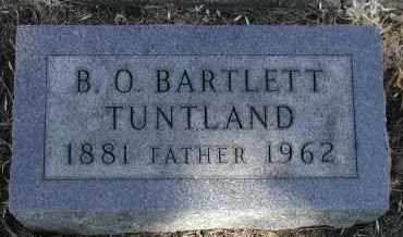 TUNTLAND, B.O. BARTLETT OLSSON - Lincoln County, South Dakota | B.O. BARTLETT OLSSON TUNTLAND - South Dakota Gravestone Photos