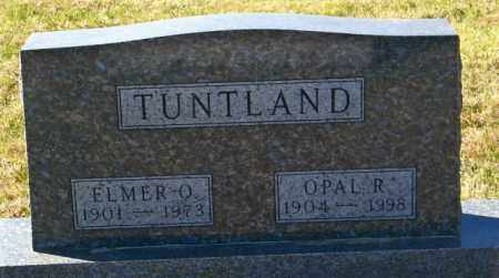 TUNTLAND, ELMER O. - Lincoln County, South Dakota | ELMER O. TUNTLAND - South Dakota Gravestone Photos