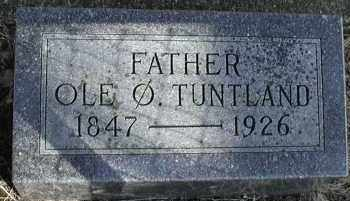 TUNTLAND, OLE OYSTEINSON - Lincoln County, South Dakota | OLE OYSTEINSON TUNTLAND - South Dakota Gravestone Photos