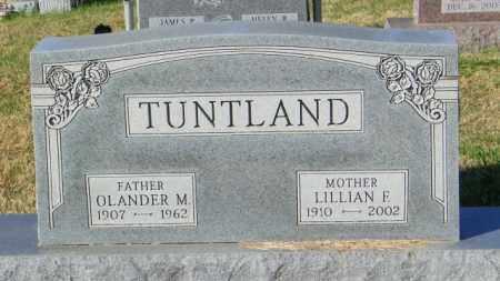 TUNTLAND, LILLIAN F. - Lincoln County, South Dakota | LILLIAN F. TUNTLAND - South Dakota Gravestone Photos