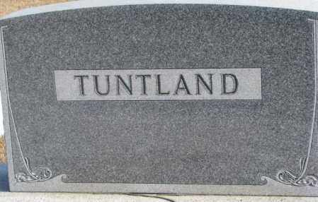 TUNTLAND, PLOT - Lincoln County, South Dakota | PLOT TUNTLAND - South Dakota Gravestone Photos