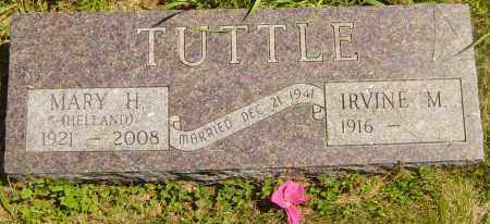 HELLAND TUTTLE, MARY H - Lincoln County, South Dakota | MARY H HELLAND TUTTLE - South Dakota Gravestone Photos