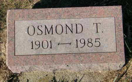 TWEDT, OSMOND T. - Lincoln County, South Dakota | OSMOND T. TWEDT - South Dakota Gravestone Photos