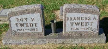 TWEDT, FRANCES A. - Lincoln County, South Dakota   FRANCES A. TWEDT - South Dakota Gravestone Photos