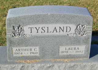 TYSLAND, ARTHUR C. - Lincoln County, South Dakota | ARTHUR C. TYSLAND - South Dakota Gravestone Photos