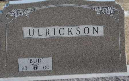 ULRICKSON, BUD - Lincoln County, South Dakota | BUD ULRICKSON - South Dakota Gravestone Photos