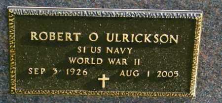ULRICKSON, ROBERT O - Lincoln County, South Dakota | ROBERT O ULRICKSON - South Dakota Gravestone Photos