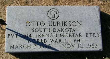 ULRIKSON, OTTO - Lincoln County, South Dakota | OTTO ULRIKSON - South Dakota Gravestone Photos