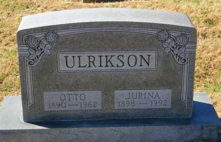 ULRIKSON, JURINA - Lincoln County, South Dakota   JURINA ULRIKSON - South Dakota Gravestone Photos