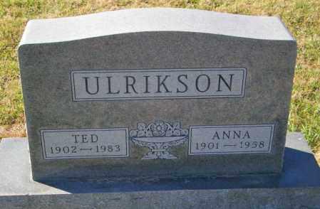 ULRIKSON, TED - Lincoln County, South Dakota | TED ULRIKSON - South Dakota Gravestone Photos