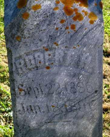 UNKNOWN, ROBERT H. - Lincoln County, South Dakota | ROBERT H. UNKNOWN - South Dakota Gravestone Photos