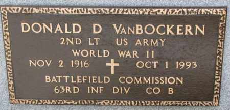 VAN BOCKERN, DONALD D. (WW II) - Lincoln County, South Dakota | DONALD D. (WW II) VAN BOCKERN - South Dakota Gravestone Photos