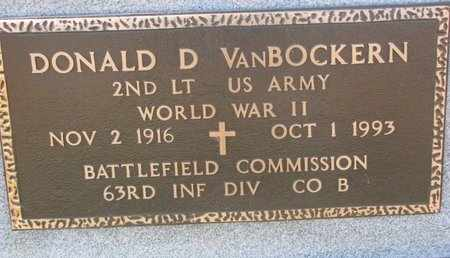 VAN BOCKERN, DONALD D. (MILITARY) - Lincoln County, South Dakota | DONALD D. (MILITARY) VAN BOCKERN - South Dakota Gravestone Photos