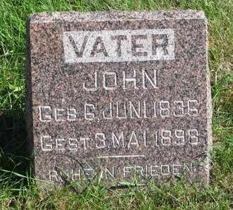 VAN BOCKERN, JOHN - Lincoln County, South Dakota | JOHN VAN BOCKERN - South Dakota Gravestone Photos