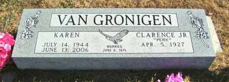VAN GRONIGEN, CLARENCE JR. - Lincoln County, South Dakota | CLARENCE JR. VAN GRONIGEN - South Dakota Gravestone Photos