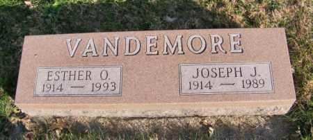 VANDEMORE, ESTHER O. - Lincoln County, South Dakota | ESTHER O. VANDEMORE - South Dakota Gravestone Photos