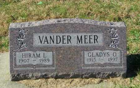 VANDER MEER, GLADYS O - Lincoln County, South Dakota | GLADYS O VANDER MEER - South Dakota Gravestone Photos