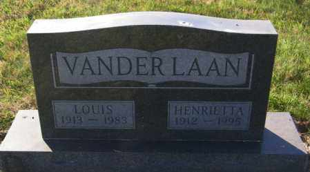 VANDERLAAN, HENRIETTA - Lincoln County, South Dakota | HENRIETTA VANDERLAAN - South Dakota Gravestone Photos