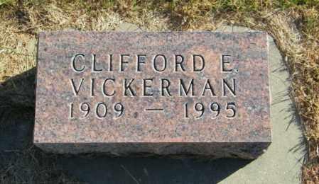 VICKERMAN, CLIFFORD E. - Lincoln County, South Dakota | CLIFFORD E. VICKERMAN - South Dakota Gravestone Photos