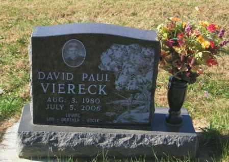 VIERECK, DAVID PAUL - Lincoln County, South Dakota | DAVID PAUL VIERECK - South Dakota Gravestone Photos