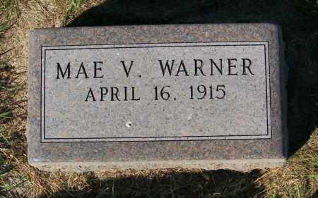 WARNER, MAE V. - Lincoln County, South Dakota | MAE V. WARNER - South Dakota Gravestone Photos