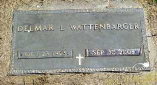 WATTENBARGER, DELMAR - Lincoln County, South Dakota   DELMAR WATTENBARGER - South Dakota Gravestone Photos