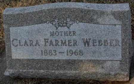 FARMER WEBBER, CLARA - Lincoln County, South Dakota | CLARA FARMER WEBBER - South Dakota Gravestone Photos