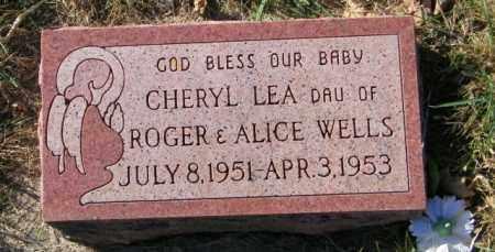 WELLS, CHERYL LEA - Lincoln County, South Dakota   CHERYL LEA WELLS - South Dakota Gravestone Photos