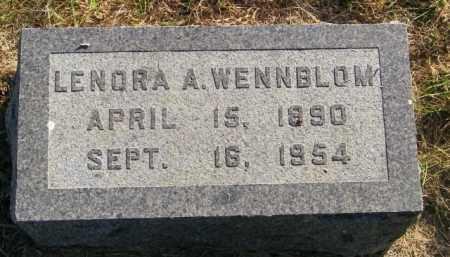 WENNBLOM, LENORA A. - Lincoln County, South Dakota   LENORA A. WENNBLOM - South Dakota Gravestone Photos