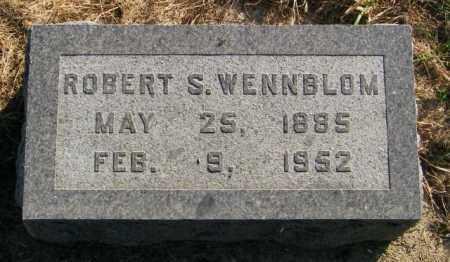 WENNBLOM, ROBERT S. - Lincoln County, South Dakota | ROBERT S. WENNBLOM - South Dakota Gravestone Photos