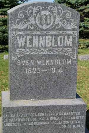 WENNBLOM, SVEN - Lincoln County, South Dakota   SVEN WENNBLOM - South Dakota Gravestone Photos