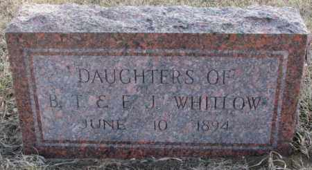 WHITLOW, DAUGHTERS - Lincoln County, South Dakota | DAUGHTERS WHITLOW - South Dakota Gravestone Photos